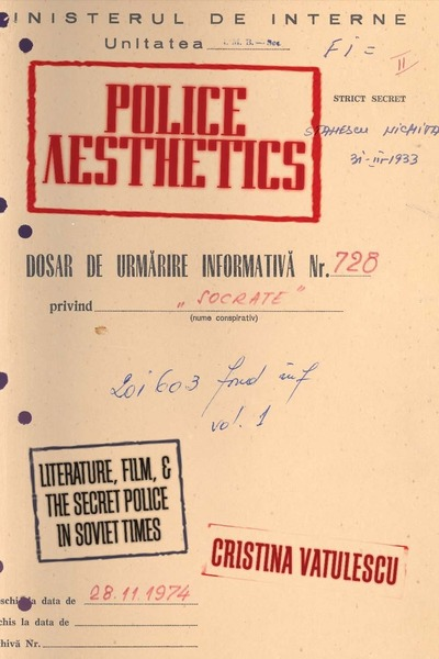 Cover of Police Aesthetics by Cristina Vatulescu