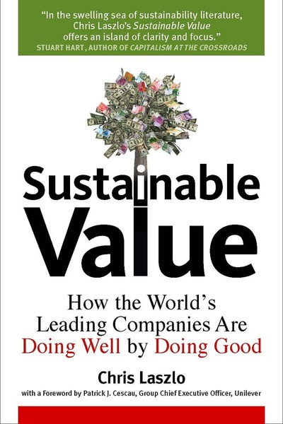 Cover of Sustainable Value by Chris Laszlo
