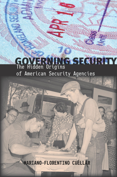 Cover of Governing Security by Mariano-Florentino Cuéllar