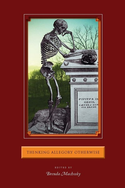 Cover of Thinking Allegory Otherwise by Edited by Brenda Machosky