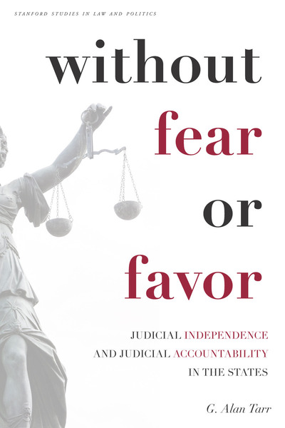 Cover of Without Fear or Favor by G. Alan Tarr