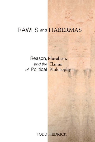 Cover of Rawls and Habermas by Todd Hedrick