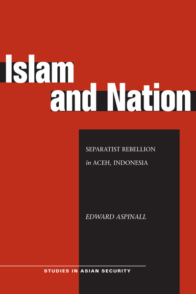 Cover of Islam and Nation by Edward Aspinall