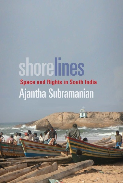 Cover of Shorelines by Ajantha Subramanian
