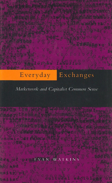 Cover of Everyday Exchanges by Evan Watkins