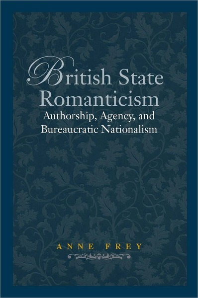 Cover of British State Romanticism by Anne Frey