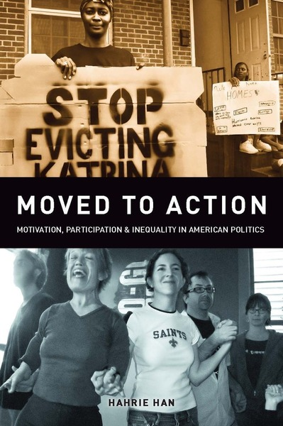 Cover of Moved to Action by Hahrie C. Han