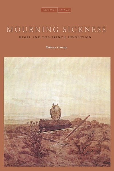 Cover of Mourning Sickness by Rebecca Comay