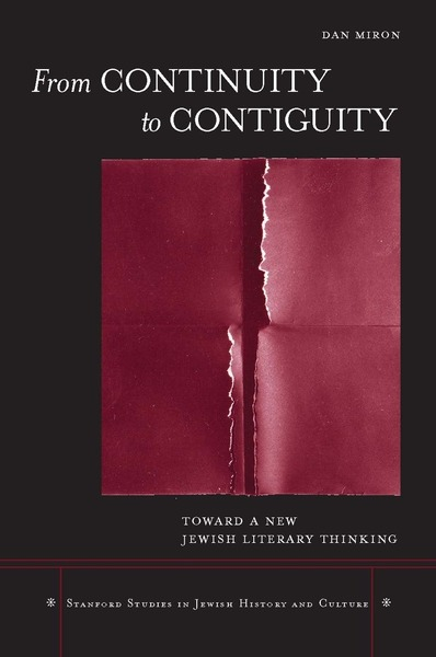 Cover of From Continuity to Contiguity by Dan Miron