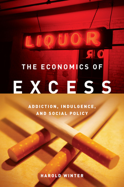 Cover of The Economics of Excess by Harold Winter