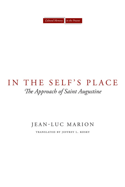Cover of In the Self