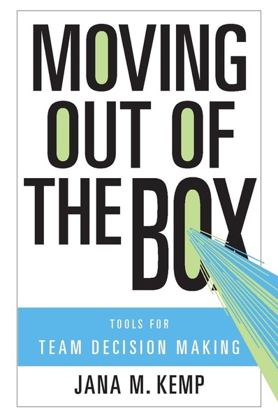 Cover of Moving Out of the Box by Jana M. Kemp