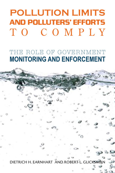 Cover of Pollution Limits and Polluters' Efforts to Comply by Dietrich H. Earnhart and Robert L. Glicksman