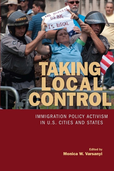 Cover of Taking Local Control by Edited by Monica W. Varsanyi