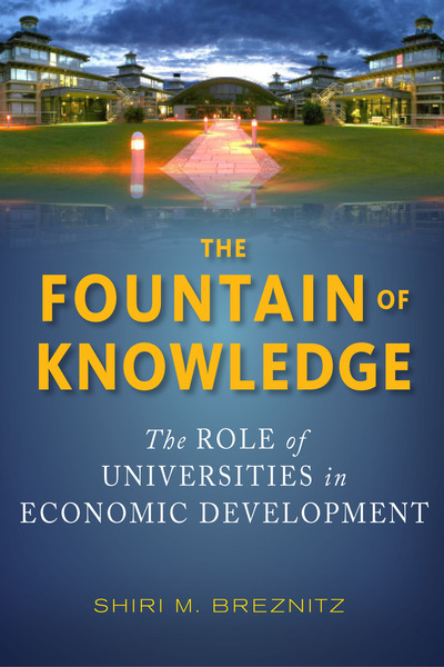 Cover of The Fountain of Knowledge by Shiri M. Breznitz