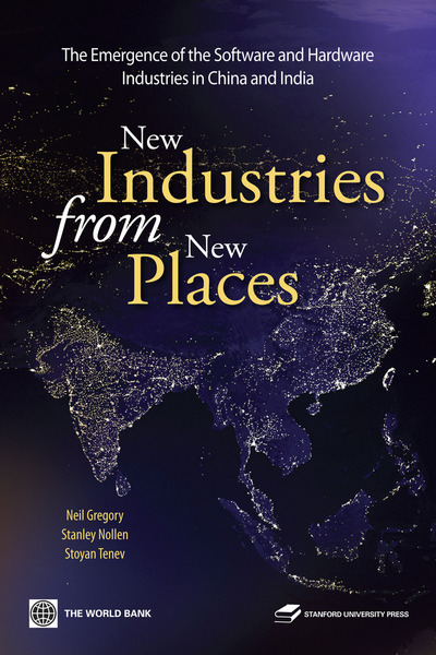 Cover of New Industries from New Places by Neil Gregory, Stanley Nollen, and Stoyan Tenev