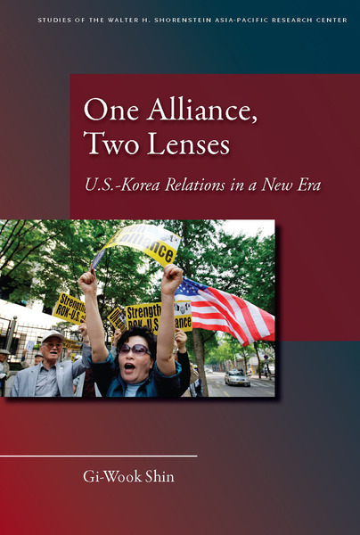 Cover of One Alliance, Two Lenses by Gi-Wook Shin