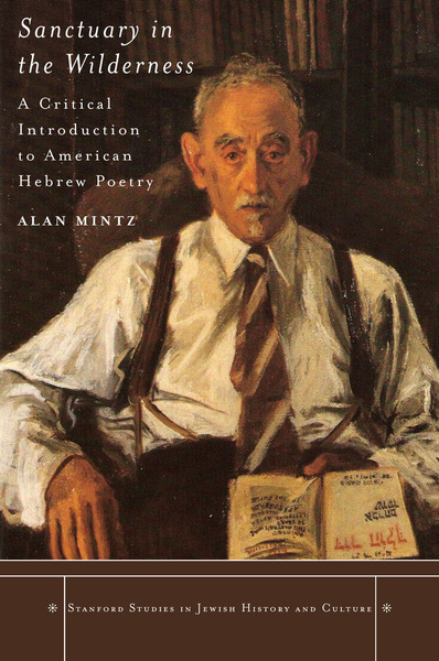 Cover of Sanctuary in the Wilderness by Alan Mintz