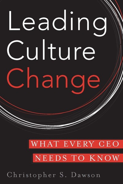 Cover of Leading Culture Change  by Christopher S. Dawson