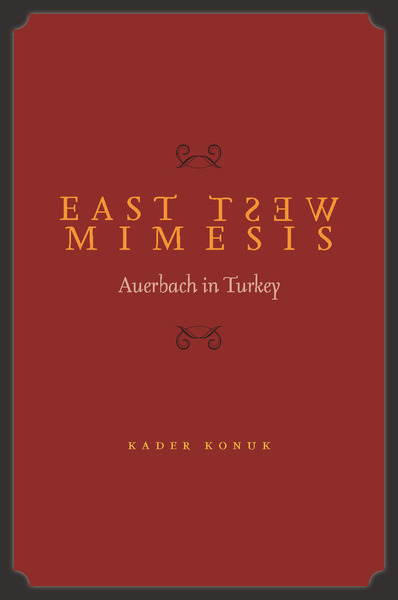Cover of East West Mimesis by Kader Konuk