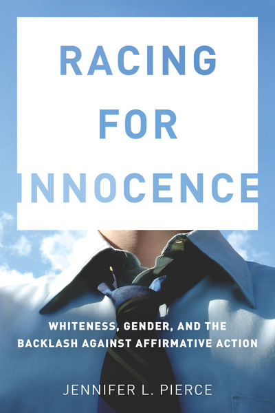 Cover of Racing for Innocence by Jennifer L. Pierce