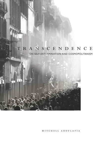 Cover of Transcendence by Mitchell Aboulafia