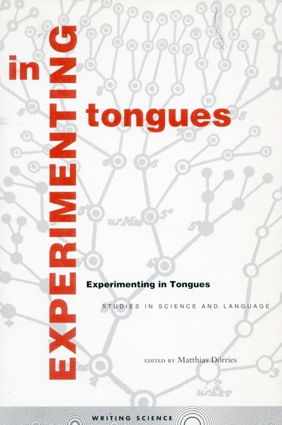 Cover of Experimenting in Tongues by Edited by Matthias Dörries