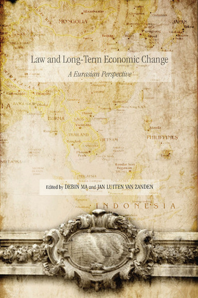 Cover of Law and Long-Term Economic Change by Edited by Debin Ma and Jan Luiten van Zanden