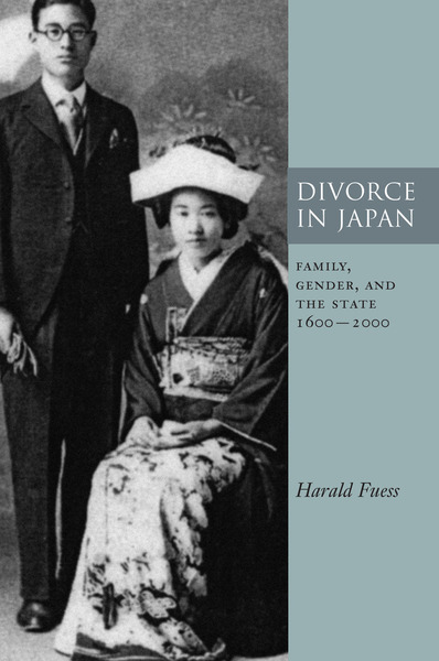 Cover of Divorce in Japan by Harald Fuess