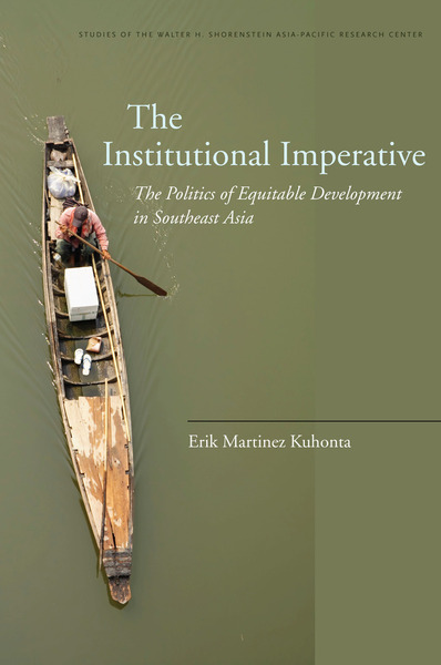 Cover of The Institutional Imperative by Erik Martinez Kuhonta
