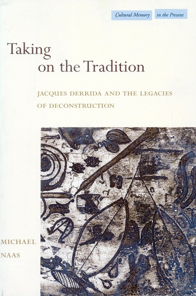 Cover of Taking on the Tradition by Michael Naas