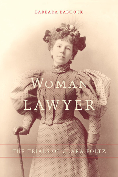 Cover of Woman Lawyer by Barbara Babcock