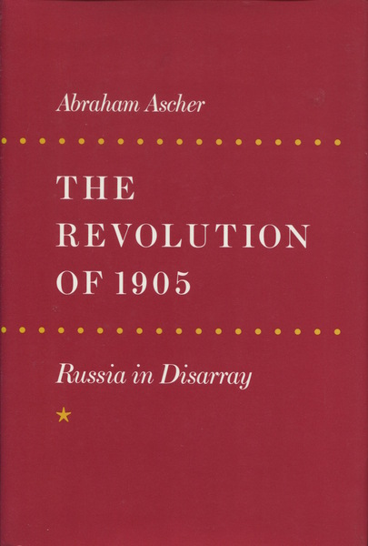 Cover of The Revolution of 1905 by Abraham Ascher