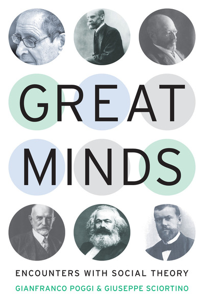 Cover of Great Minds by Gianfranco Poggi and Giuseppe Sciortino