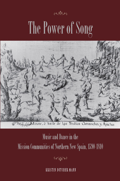 Cover of The Power of Song by Kristin Dutcher Mann