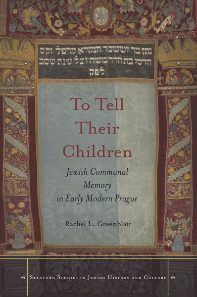 Cover of To Tell Their Children by Rachel L. Greenblatt