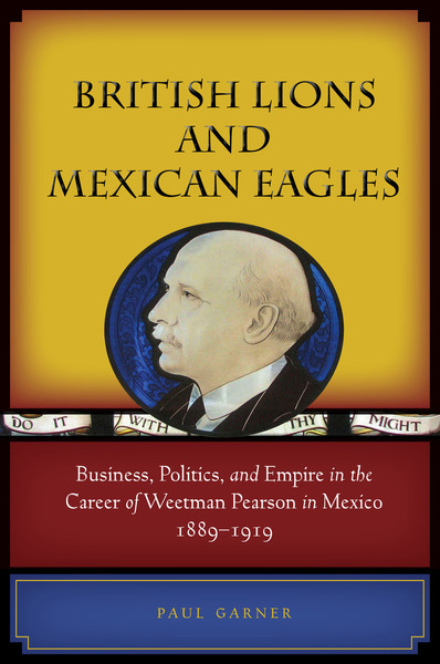 Cover of British Lions and Mexican Eagles by Paul Garner