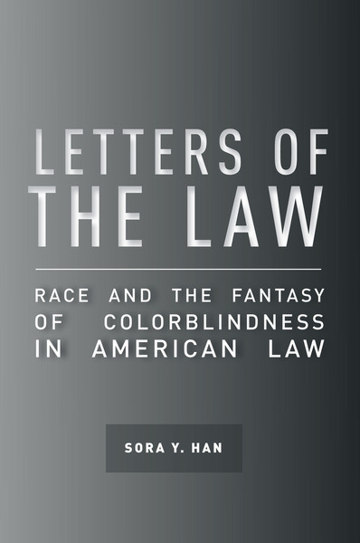 Cover of Letters of the Law by Sora Y. Han