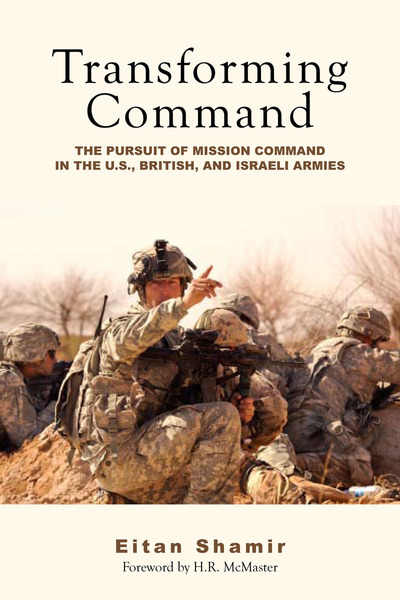 Cover of Transforming Command by Eitan Shamir