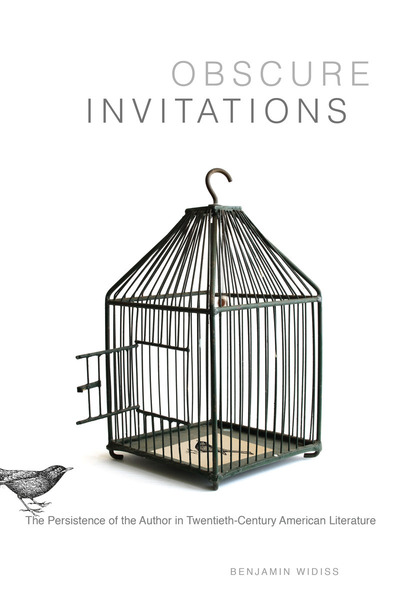 Cover of Obscure Invitations by Benjamin Widiss
