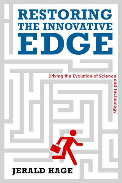 Cover of Restoring the Innovative Edge by Jerald Hage