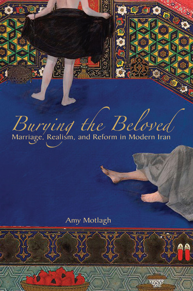 Cover of Burying the Beloved by Amy Motlagh