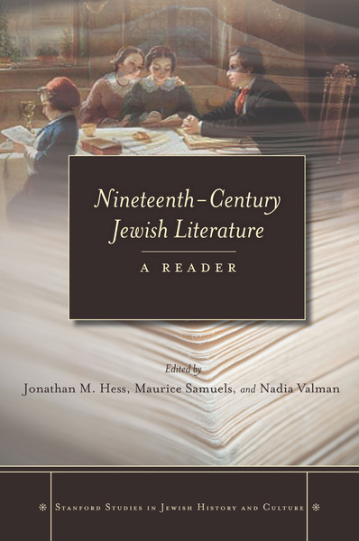 Cover of Nineteenth-Century Jewish Literature by Edited by Jonathan M. Hess, Maurice Samuels, and Nadia Valman