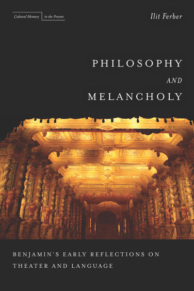 Cover of Philosophy and Melancholy by Ilit Ferber