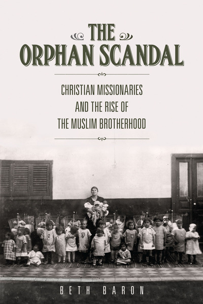 Cover of The Orphan Scandal by Beth Baron