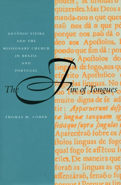 Cover of The Fire of Tongues by Thomas M. Cohen