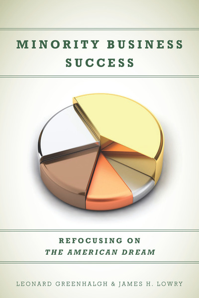 Cover of Minority Business Success by Leonard Greenhalgh and James H. Lowry