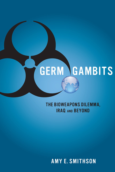 Cover of Germ Gambits by Amy E. Smithson