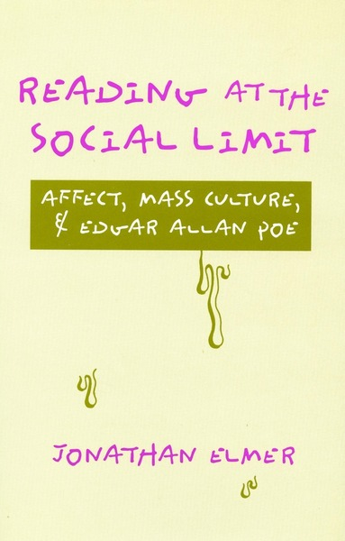 Cover of Reading at the Social Limit by Jonathan Elmer