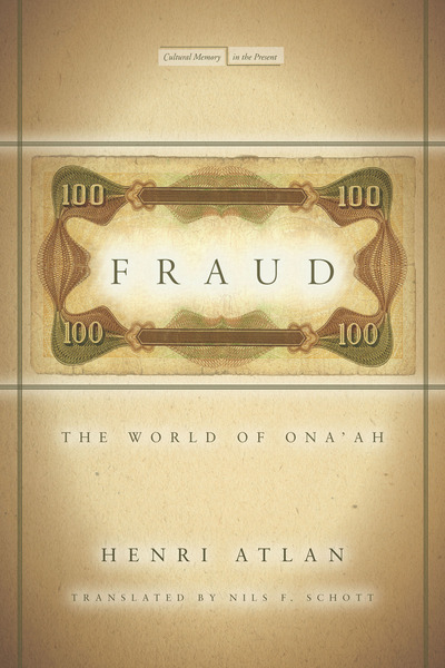 Cover of Fraud by Henri Atlan, Translated by Nils F. Schott